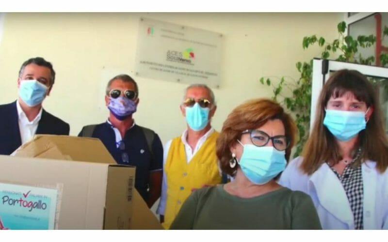 La comunità italiana dell'Est Algarve in aiuto ai bisognosi