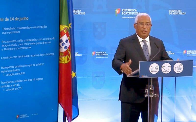 Piano riapertura Portogallo